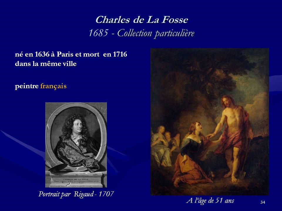Charles de La Fosse 1685 - Collection particulière
