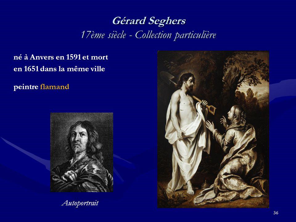 Gérard Seghers 17ème siècle - Collection particulière