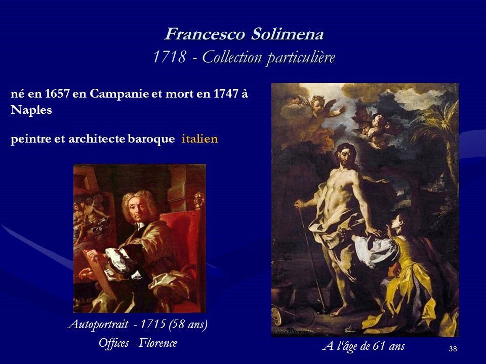 Francesco Solimena 1718 - Collection particulière