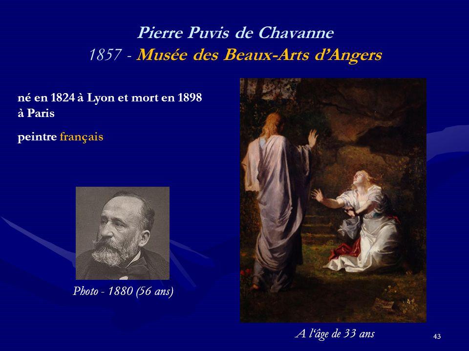 Pierre Puvis de Chavanne 1857 - Musée des Beaux-Arts d'Angers
