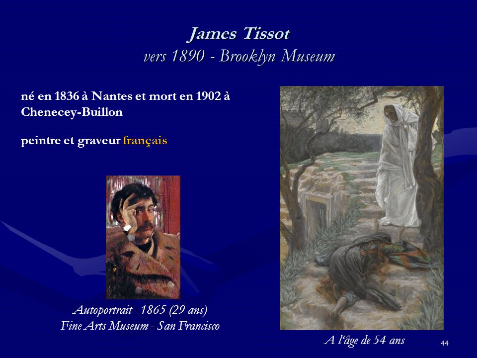 James Tissot vers 1890 - Brooklyn Museum