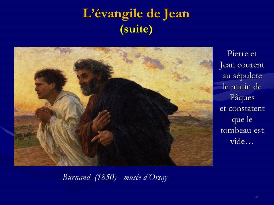 L'évangile de Jean (suite)