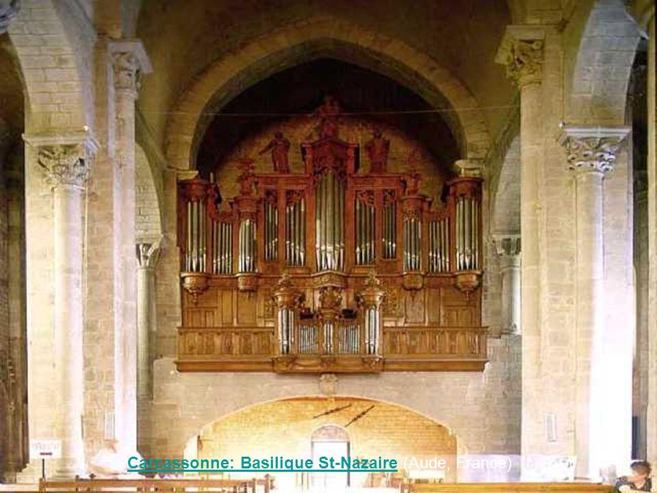 Carcassonne: Basilique St-Nazaire (Aude, France)