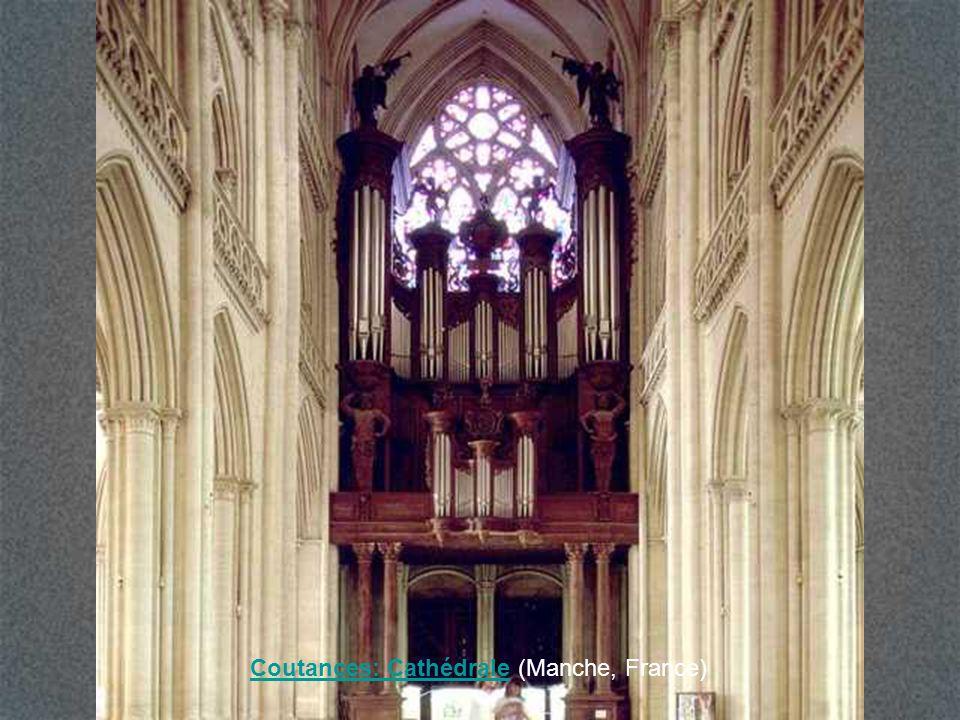 Coutances: Cathédrale (Manche, France)