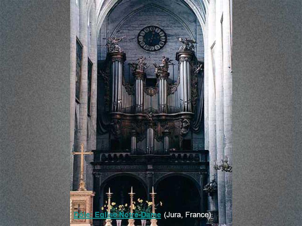 Dôle: Eglise Notre-Dame (Jura, France)