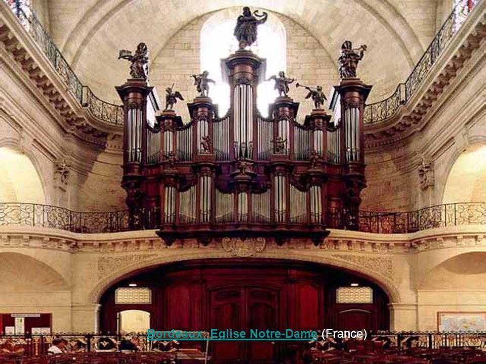 Bordeaux: Eglise Notre-Dame (France)