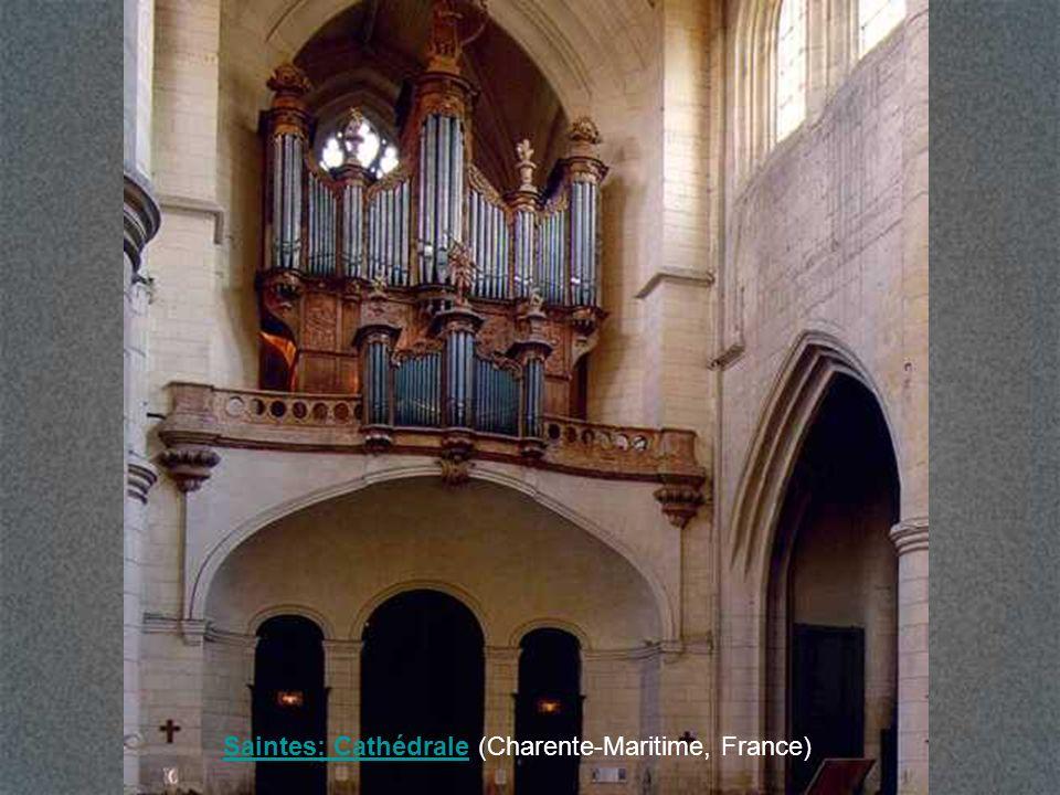 Saintes: Cathédrale (Charente-Maritime, France)