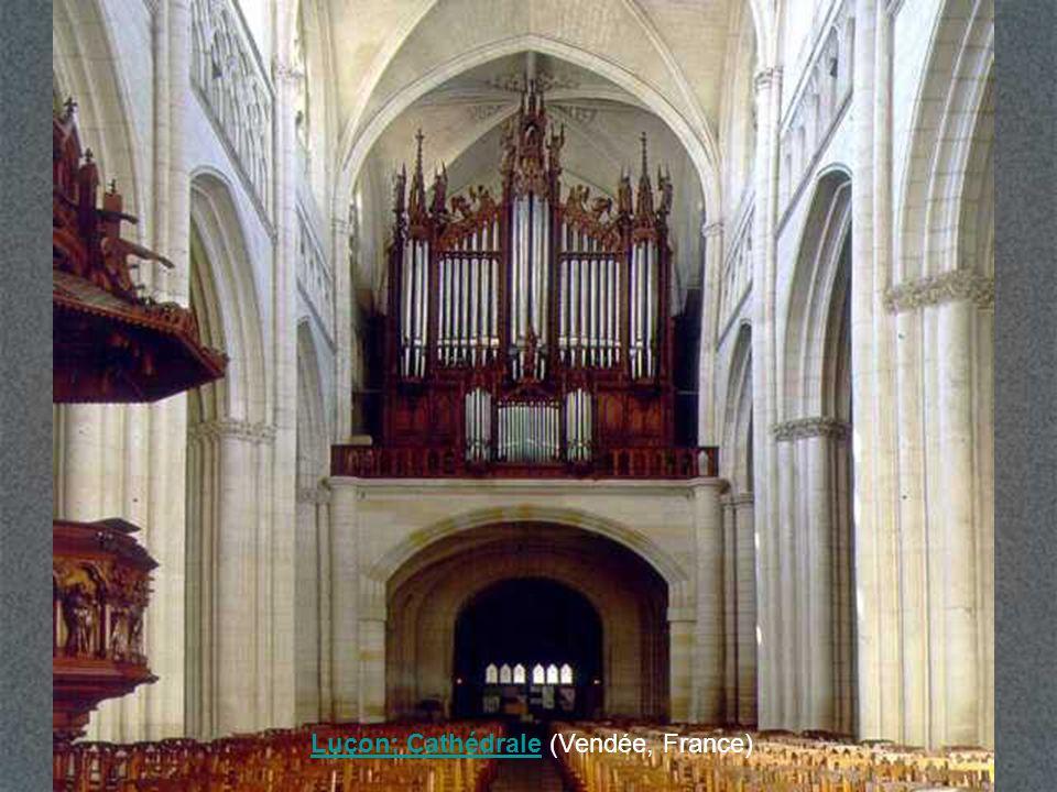 Luçon: Cathédrale (Vendée, France)