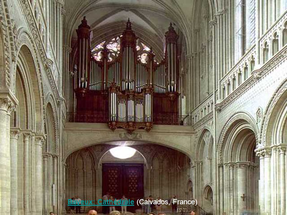 Bayeux: Cathédrale (Calvados, France)
