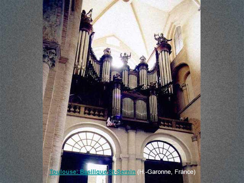 Toulouse: Basilique St-Sernin (H.-Garonne, France)