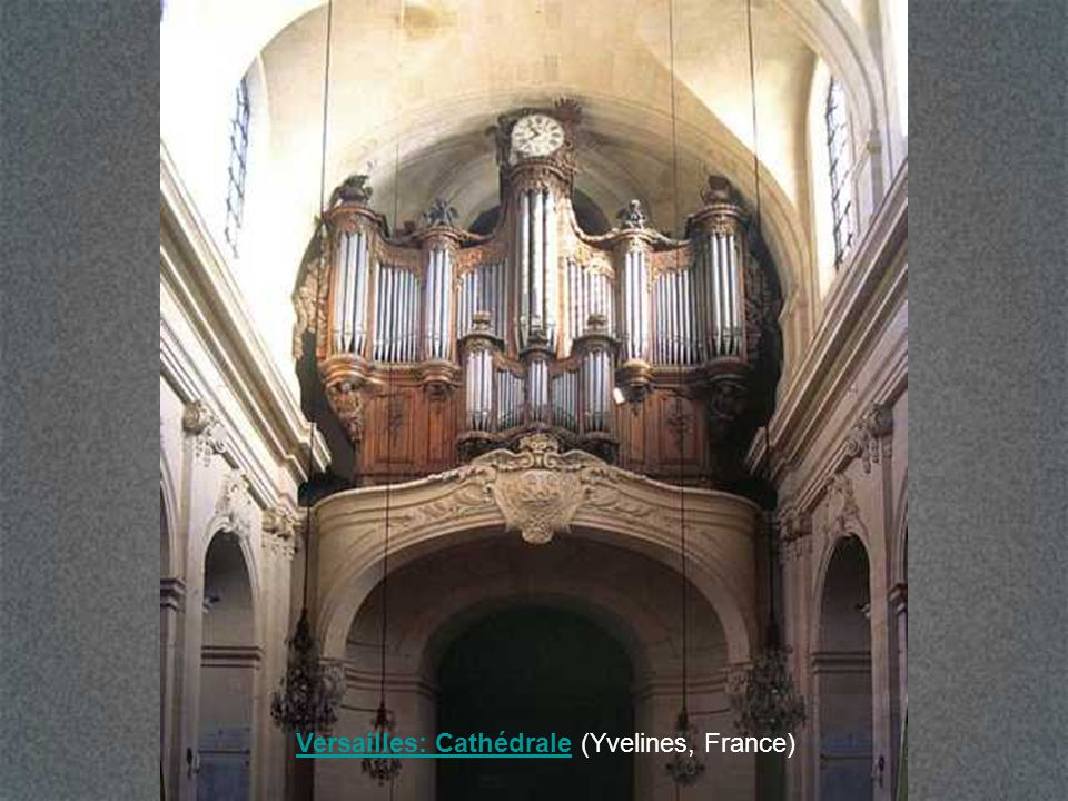 Versailles: Cathédrale (Yvelines, France)