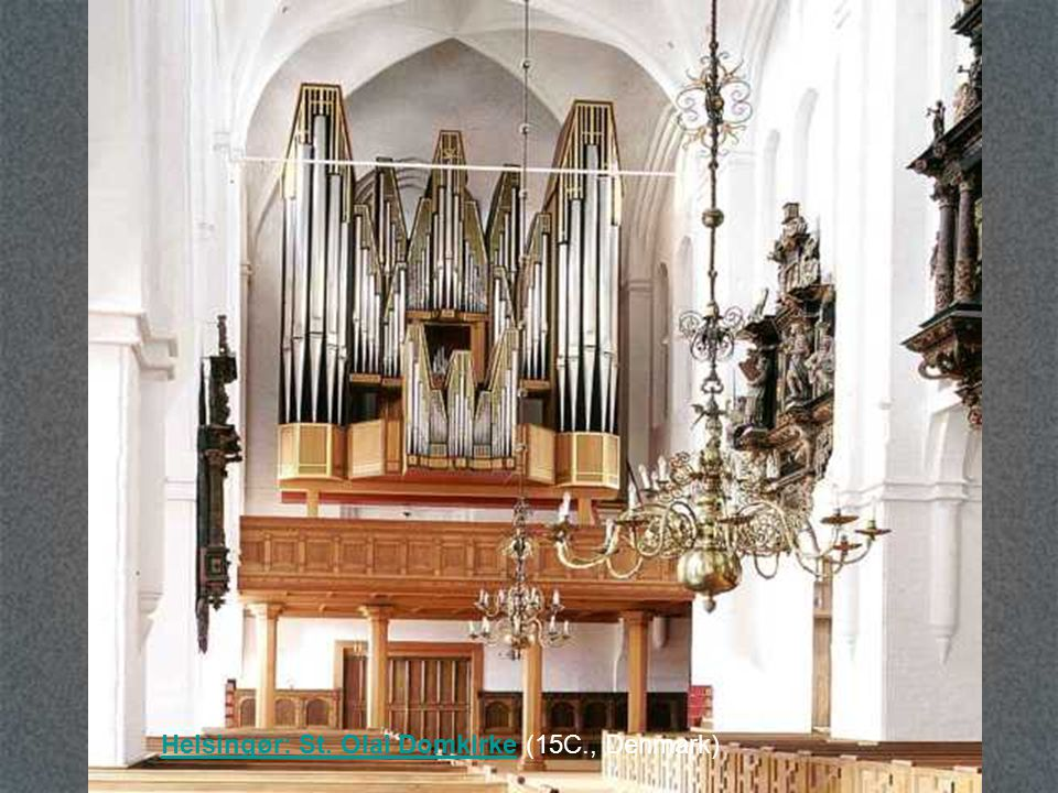 Helsingør: St. Olai Domkirke (15C., Denmark)