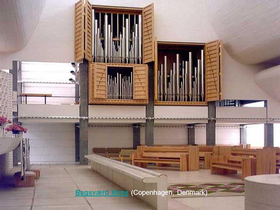 Bagsværd Kirke (Copenhagen, Denmark)