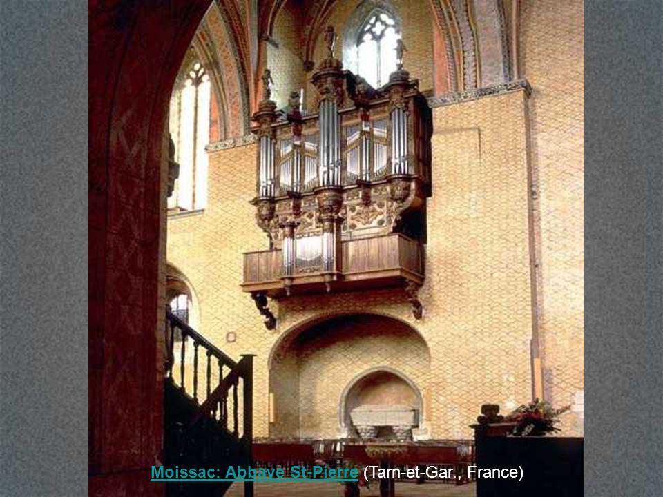 Moissac: Abbaye St-Pierre (Tarn-et-Gar., France)