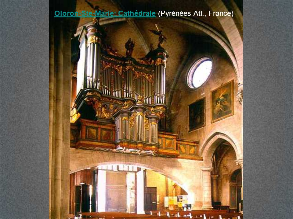Oloron-Ste-Marie: Cathédrale (Pyrénées-Atl., France)