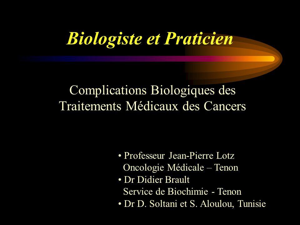 Biologiste et Praticien