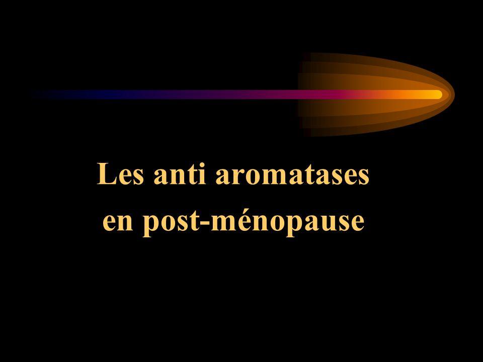 Les anti aromatases en post-ménopause