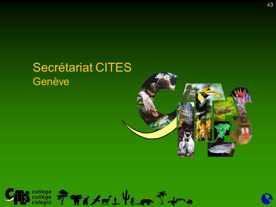 Secrétariat CITES Genève