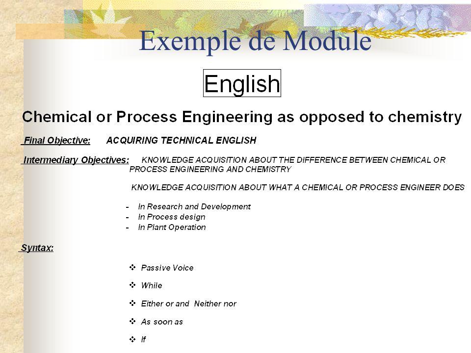 Exemple de Module
