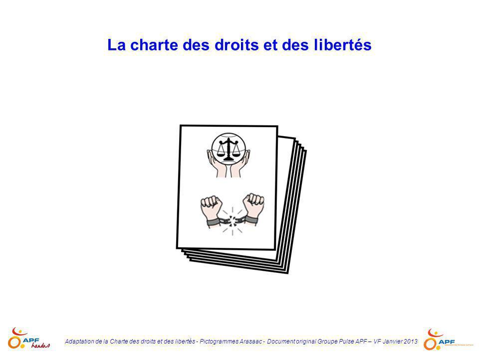 La charte des droits et des libertés