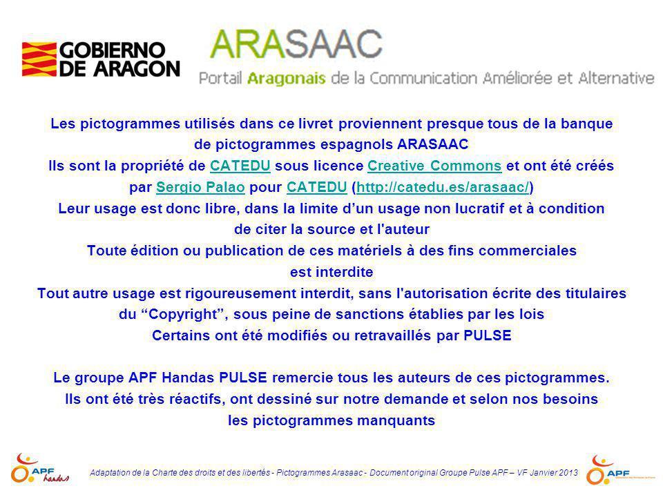 de pictogrammes espagnols ARASAAC