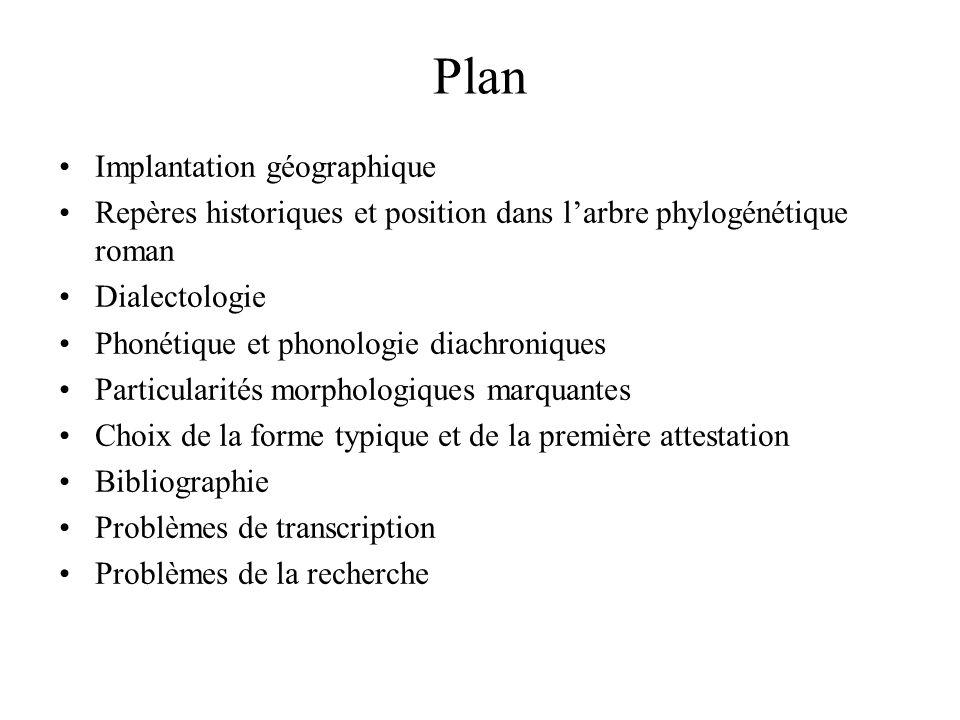 Plan Implantation géographique