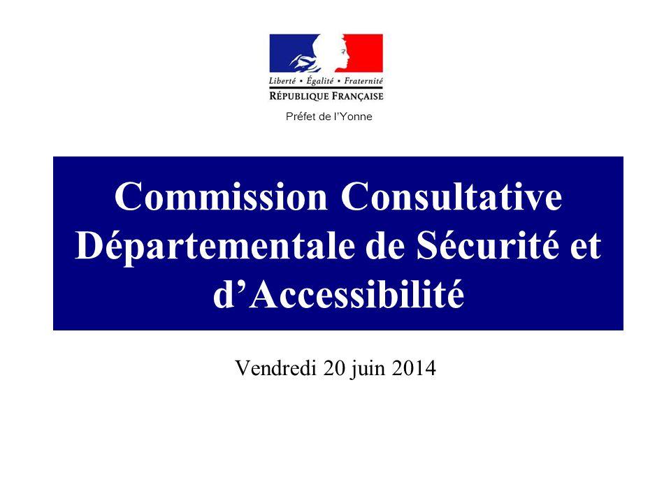 Commission Consultative Départementale de Sécurité et d'Accessibilité