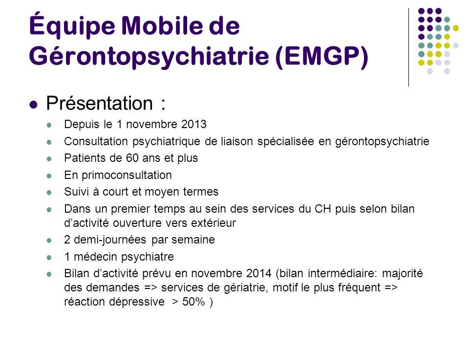Équipe Mobile de Gérontopsychiatrie (EMGP)