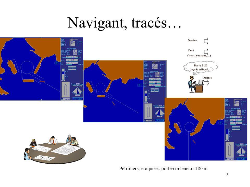 Navigant, tracés… Pétroliers, vraquiers, porte-conteneurs 180 m