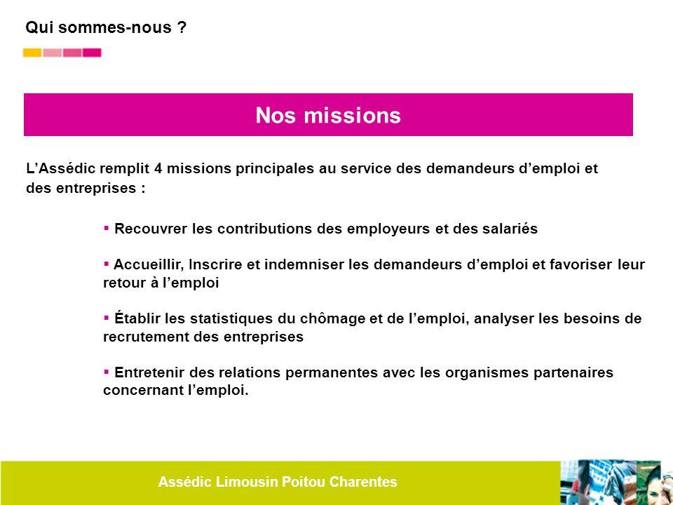 Nos missions Qui sommes-nous