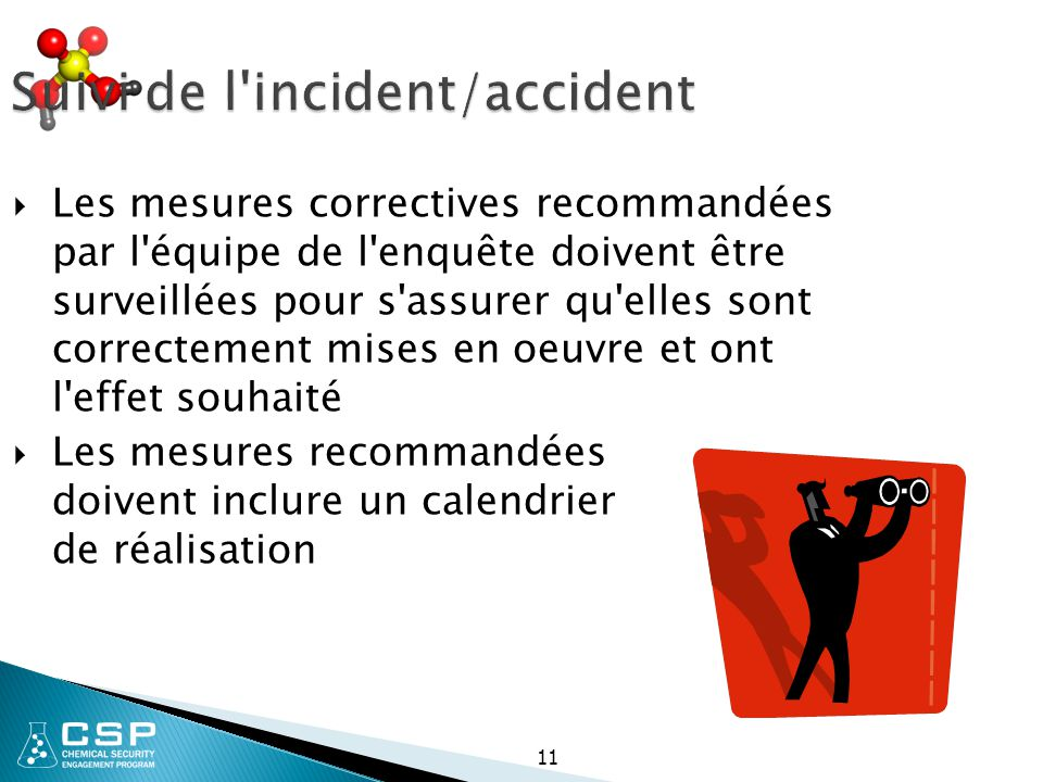 Suivi de l incident/accident
