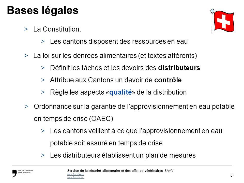 Bases légales La Constitution: