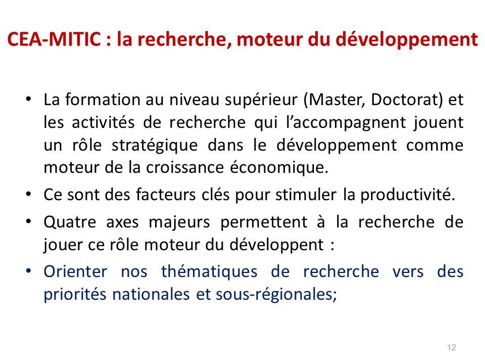 CEA-MITIC : la recherche, moteur du développement