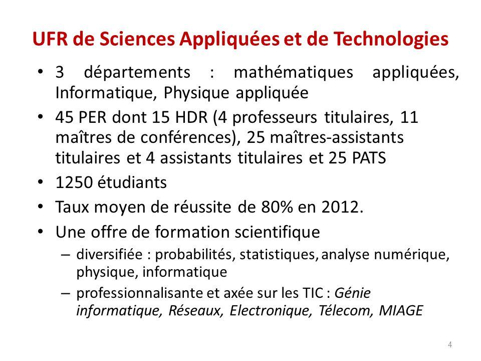UFR de Sciences Appliquées et de Technologies