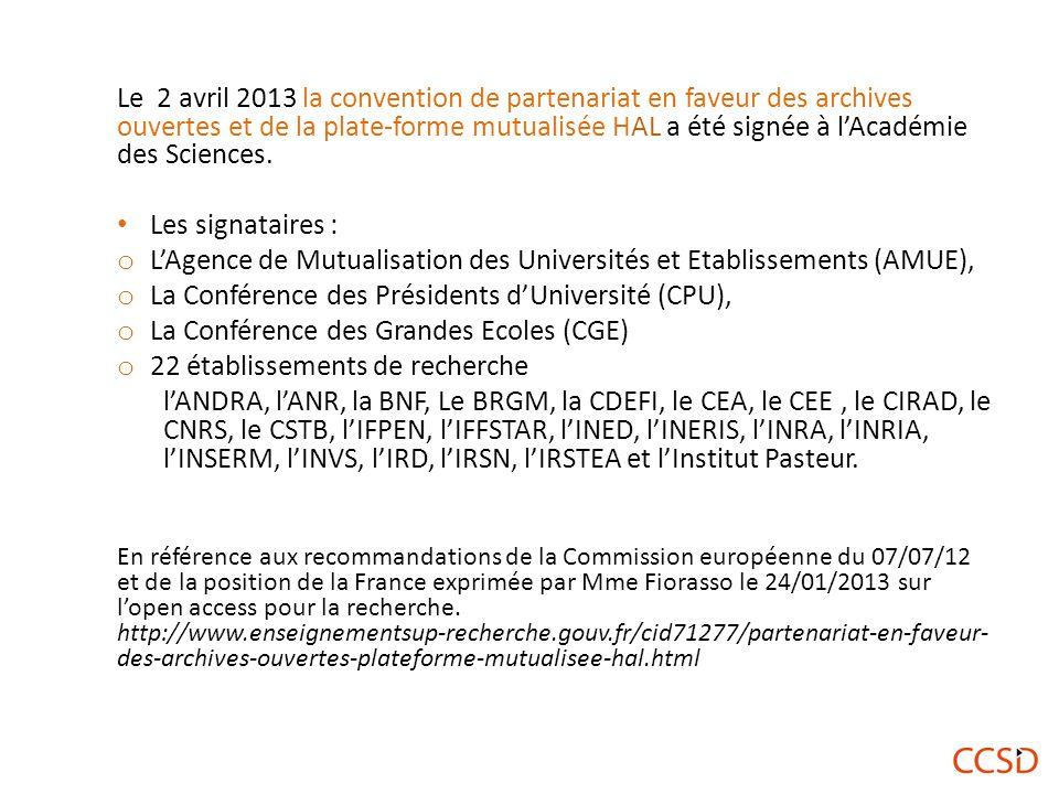 L'Agence de Mutualisation des Universités et Etablissements (AMUE),