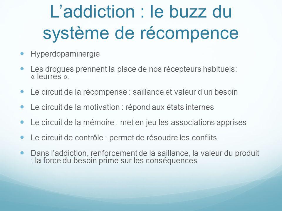 L'addiction : le buzz du système de récompence