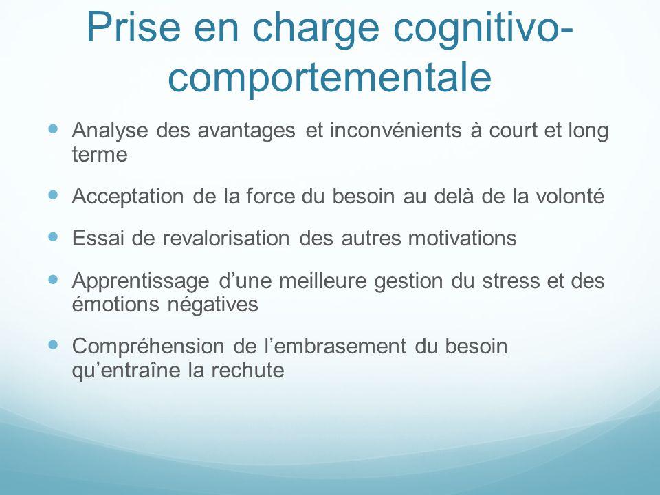 Prise en charge cognitivo-comportementale
