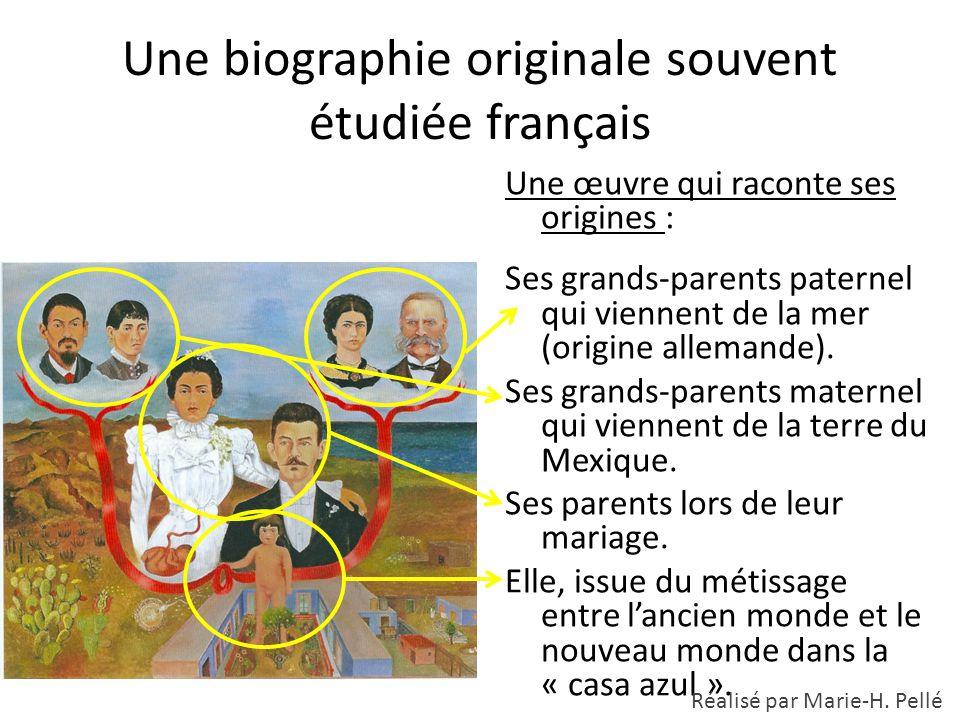 Une biographie originale souvent étudiée français