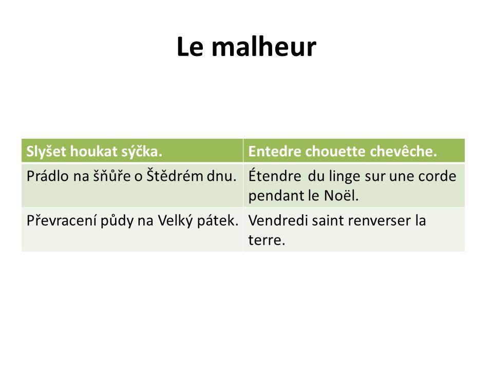 Le malheur Slyšet houkat sýčka. Entedre chouette chevêche.
