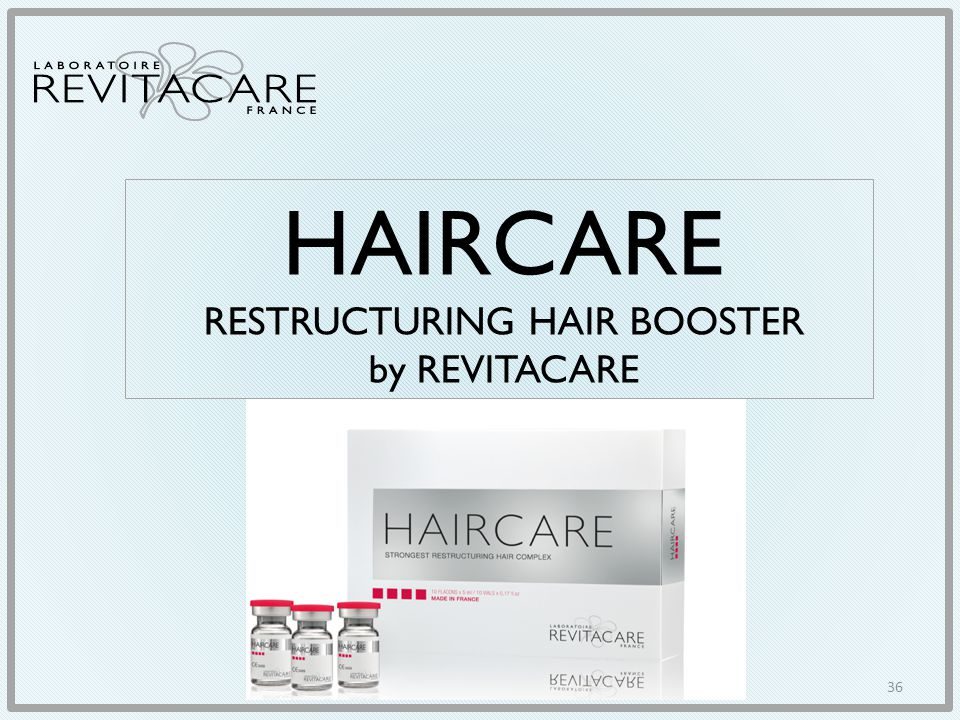 HAIRCARE RESTRUCTURING HAIR BOOSTER by REVITACARE
