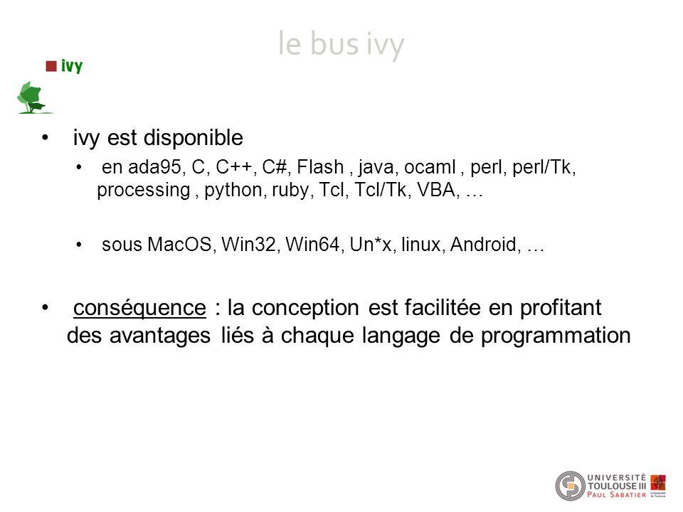 le bus ivy ivy est disponible