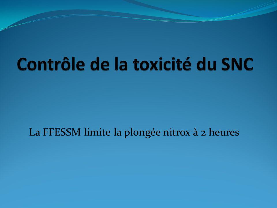 Contrôle de la toxicité du SNC