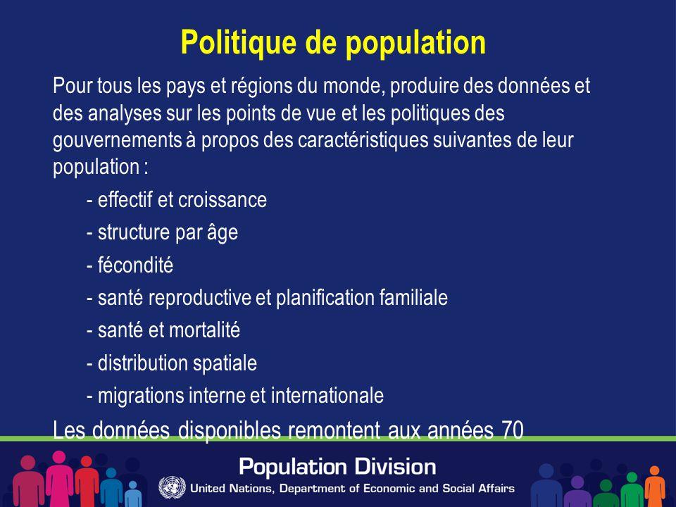 Politique de population