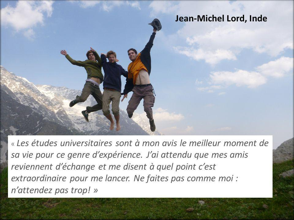 Jean-Michel Lord, Inde