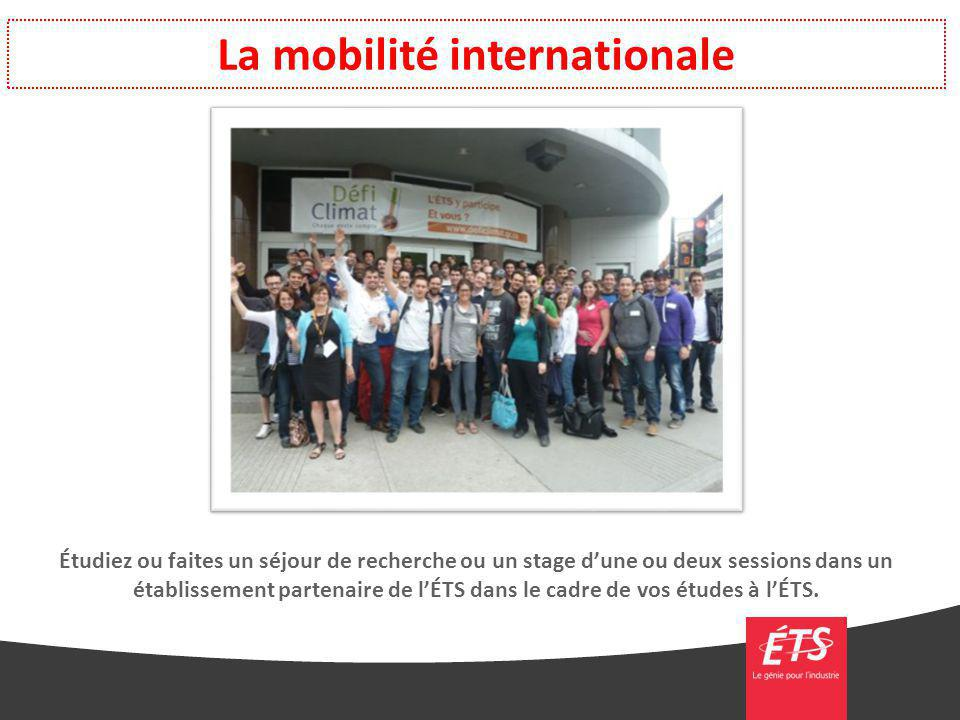 La mobilité internationale