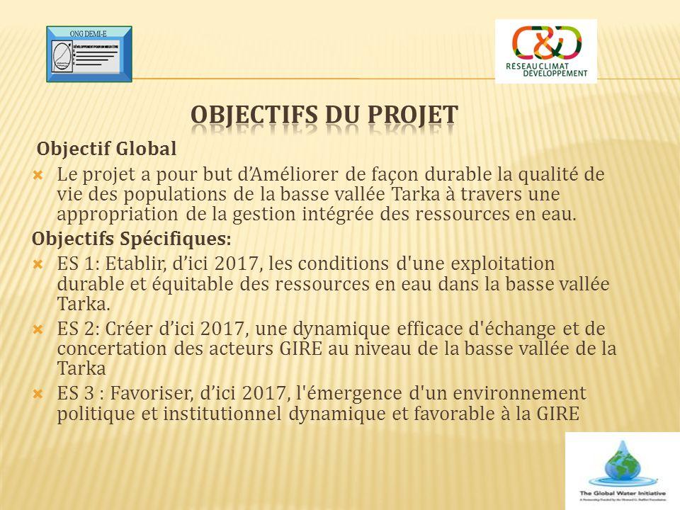 Objectifs du Projet Objectif Global