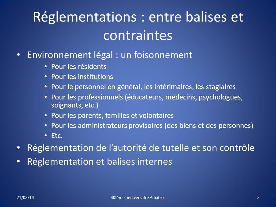 Réglementations : entre balises et contraintes