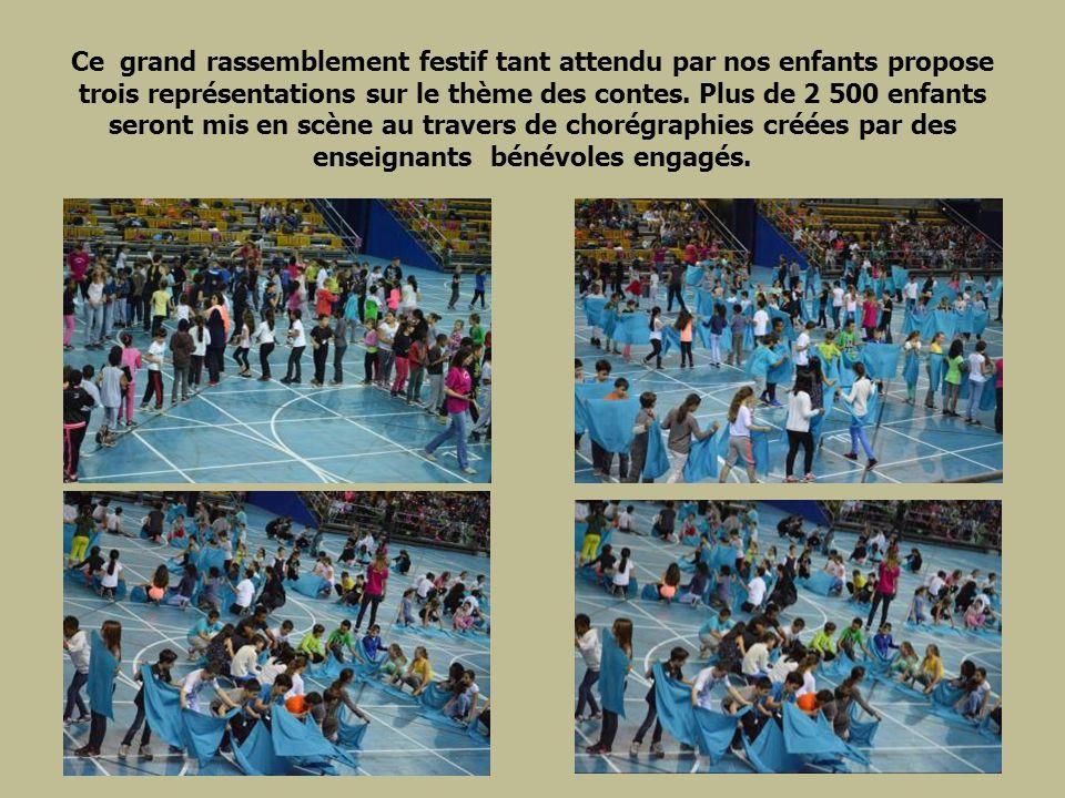 Ce grand rassemblement festif tant attendu par nos enfants propose trois représentations sur le thème des contes.