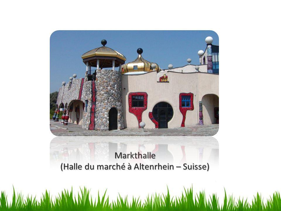 (Halle du marché à Altenrhein – Suisse)