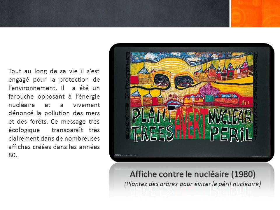 Affiche contre le nucléaire (1980)